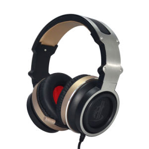 High End Professional Internet Shop Gaming Headset with Folding Mic pictures & photos
