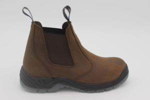 Upper PU Leather Sole Safety Work Shoe pictures & photos