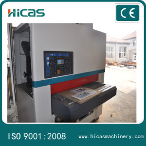 Wood Board Surface Deburring and Smoothing Automatic Sanding Machine pictures & photos