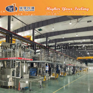 Fully-Automatic Aseptic Prisma Carton Filling Machine for Liquid Food pictures & photos