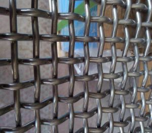 55/65mn Mine Sieving Crimped Wire Mesh for Rock Crusher pictures & photos