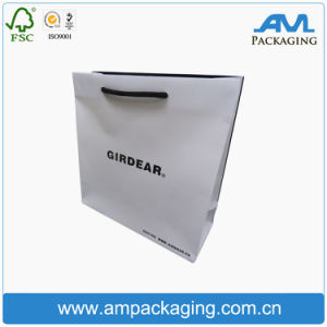 Custom Cheap Printed Shopping Bag with Rope Handle pictures & photos