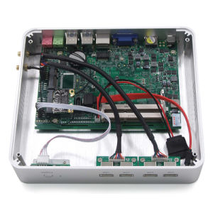 Intel Core I3 7100u Fanless Mini PC with Barebone System pictures & photos