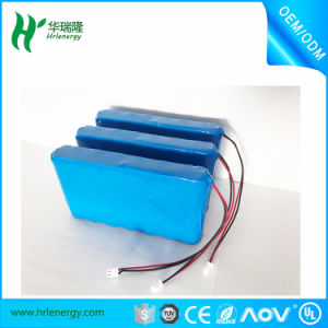 Baterias Recargables 12000 Mh 7s Lion Battery 18650 2600mAh pictures & photos
