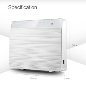 Wall Mounted Air Purifier with Two Fans and UV Lamp pictures & photos