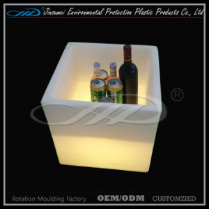 Plastic LED Furniture Ice Bucket for Wine Beer Storage pictures & photos
