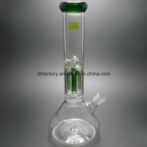 Factory Wholesale Clear Glass Water Pipe Oil Rig Recycler Bubbler pictures & photos