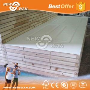Wood Veneer & White Moulded HDF Door pictures & photos