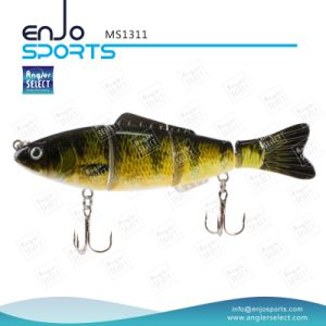 Multi Jointed Life-Like Fishing Lure Bass Bait Shallow Fishing Tackle (MS1311) pictures & photos