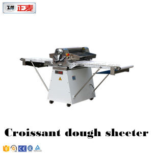 Reversible Pastry Fondant Bread Pizza Bakery Manual Sheeter Dough Machine Price (ZMK-520) pictures & photos