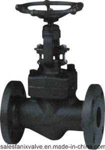 American Standard Forged Steel Flange Globe Valve pictures & photos