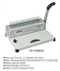 Desktop Binding Machine YD-CM603 pictures & photos