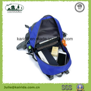 Five Colors Polyester Hiking Backpack D406 pictures & photos