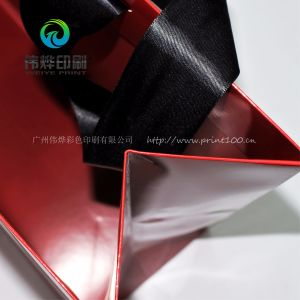Colorful Offset Printing Paper Bag Use for Advertisement pictures & photos