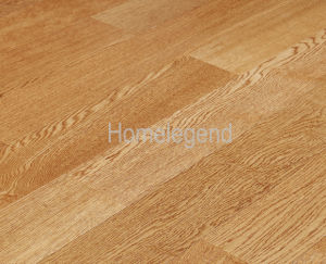 Wrie-Brushing Oak Engineered Wood Flooring /Hardwood Flooring Oak001-49 pictures & photos