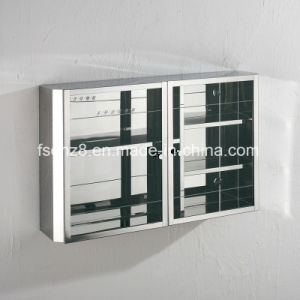 Stainless Steel Furniture Bathroom Mirror Cabinet (Ymt7049) pictures & photos