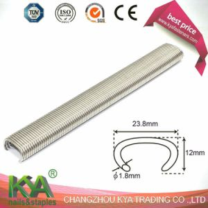 Galvanized 15ss100 Hog Ring Staple for Furnituring, Industry pictures & photos