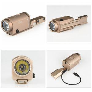 Tactical Hunting Air Gun Weapon Light Aluminum 20mm Mount LED Flashlight pictures & photos