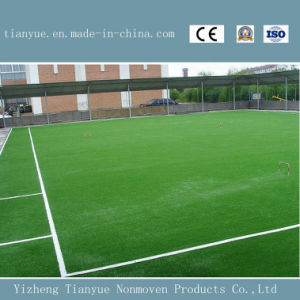 Natural Green Soccer Artificial Lawn