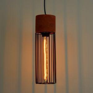 Vintage Antique Industrial Cement Cage Pendant Lamp Concrete Lighting Fixtures pictures & photos