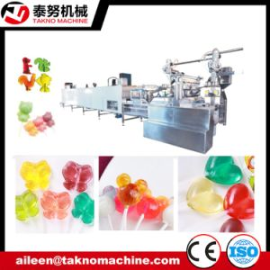 Sweet Flat Lollipop Making Line pictures & photos