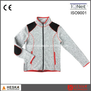 Polar Fleece Polyester Women Clothes Jacket pictures & photos