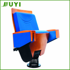 Jy-906 Folding Cover Fabric Lecture Hall with Tablet Theater Chair pictures & photos