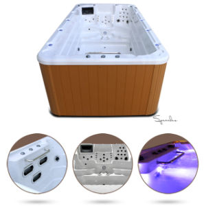 Good Insulation Swim SPA Jacuzzi Swimming Pool for Nordic Countries pictures & photos