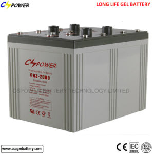 Maintenance Free Deep Cycle Solar Battery 2V2000ah pictures & photos