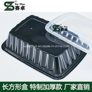 Simple Compartment Disposable Plastic Lunch Storage Box pictures & photos