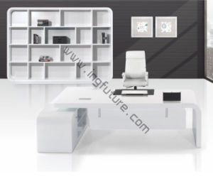Pure Shiny White Modern Stylish Wooden Executive Office Furniture pictures & photos
