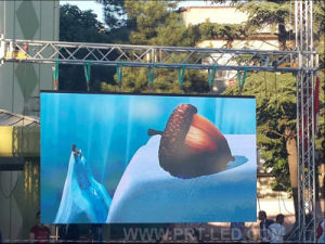 Outdoor Rental Full Color Digital LED Display Sign with 500X1000mm Board pictures & photos