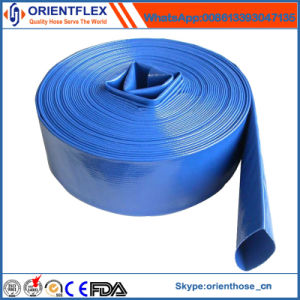 4′′ 6′′ 8′′ 10′′ and 12′′ High Pressure PVC Layflat Flexible Water Hose  pictures & photos