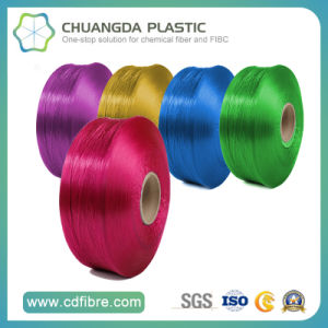 840d Polypropylene Colorful High Tenacity Yarns Used for Weaving and Knitting pictures & photos