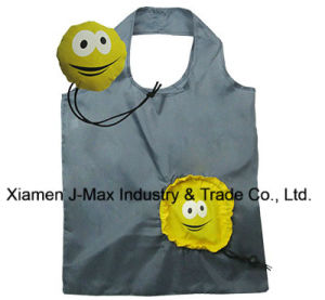 Foldable Shopper Bag, Face Style, Reusable, Promotion, Tote Bag, Lightweight, Grocery Bags and Handy, Gifts, Decoration & Accessories pictures & photos