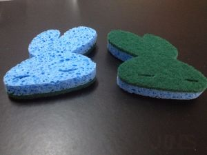 Scouring Pad for Bath Room Clean pictures & photos