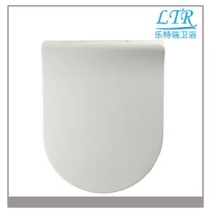White Fujian Best Sell Soft Close UF Ecofriendly Material Wc Toilet Seat Cover pictures & photos