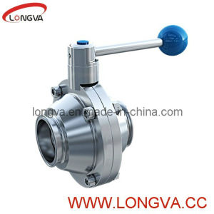 Food Grade Stainless Steel Butterfly Type Ball Valve pictures & photos
