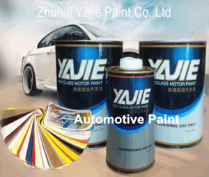 Car Refinish Metallic Silver Automotive Paint pictures & photos