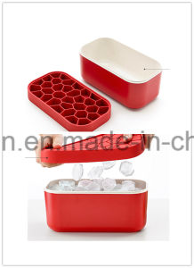Homemade Plastic/Platinum Silicone Ice Cube Mould/Ice Cube Container/ Ice Cube Box pictures & photos