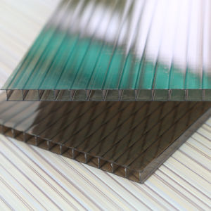 Fire Resistance Hollow Polycarbonate Sheet Twin Wall Sheet pictures & photos