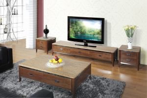 Wooden Conner Coffee Table Furniture (SBLCJ-193BB) pictures & photos