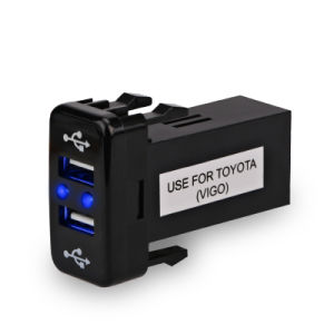 USB Charger Port Interface Adapter for Toyota Vigo pictures & photos