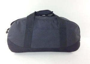 Two Tone Polyester Fabric Travel Sports Weekend Duffle Bag pictures & photos