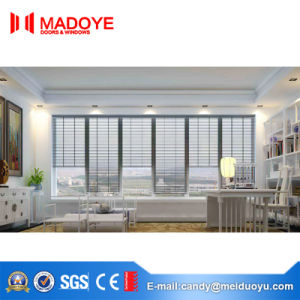Excellent Quality Insulating Glass Aluminium Shutter Window pictures & photos