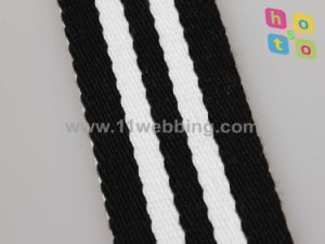 Striped Cotton Webbing/Polyester Binding Tape/Cotton Webbing for Bag Handle pictures & photos