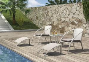 Garden Outdoor Wicker Leisure Chair and Ottoman pictures & photos