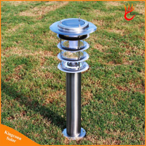 IP65 Stainless Steel LED Solar Lawn Light for Outdoor Garden Park pictures & photos