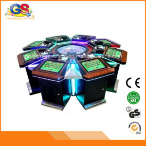 Electronic Coin Operated Roulette Game Machine Casino Table pictures & photos
