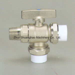 Brass Ball Valve for Heating System PPR Ball Valve pictures & photos